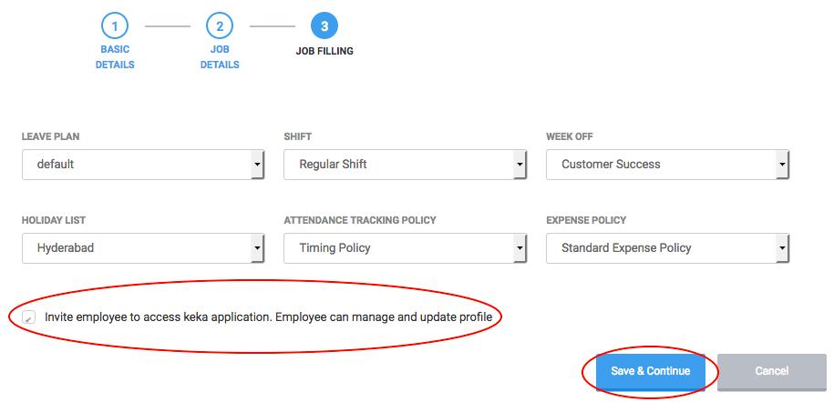 Adding and Removing Employees – Keka Documentation
