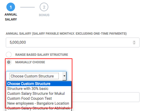 Salary Structures & Components – Keka Documentation